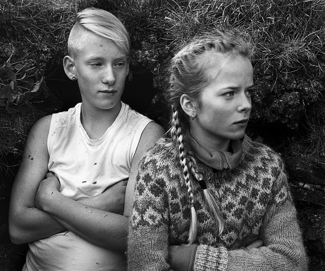 Agnieszka Sosnowska, 'Mikael and Arna,The Field Trip, Iceland', 2014, Vision Neil Folberg Gallery