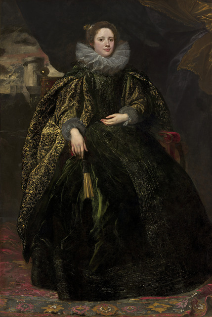 Anthony van Dyck, 'Marchesa Balbi', ca. 1623, National Gallery of Art, Washington, D.C.