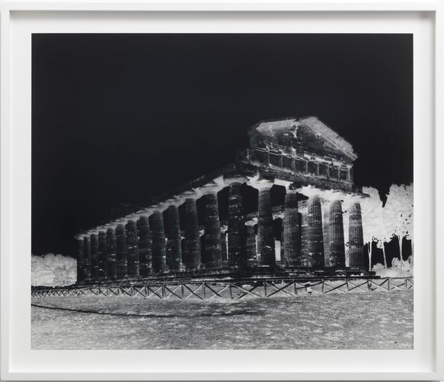 Vera Lutter, 'Temple of Athena, Paestum: October 5, 2015', 2015, Lorena Ruiz de Villa