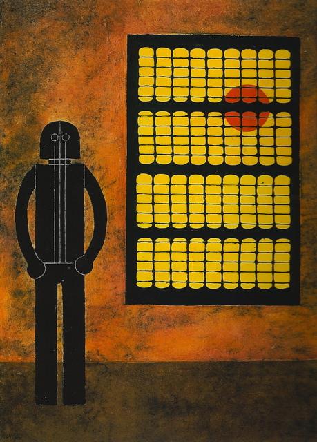 , 'Hombre en la Ventana (Man at the Window),' 1980, Latin American Masters