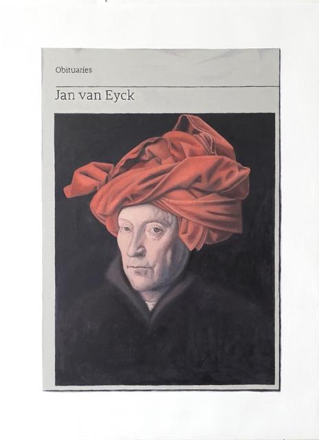 , 'Obituary: Jan van Eyck,' 2019, Charlie Smith London