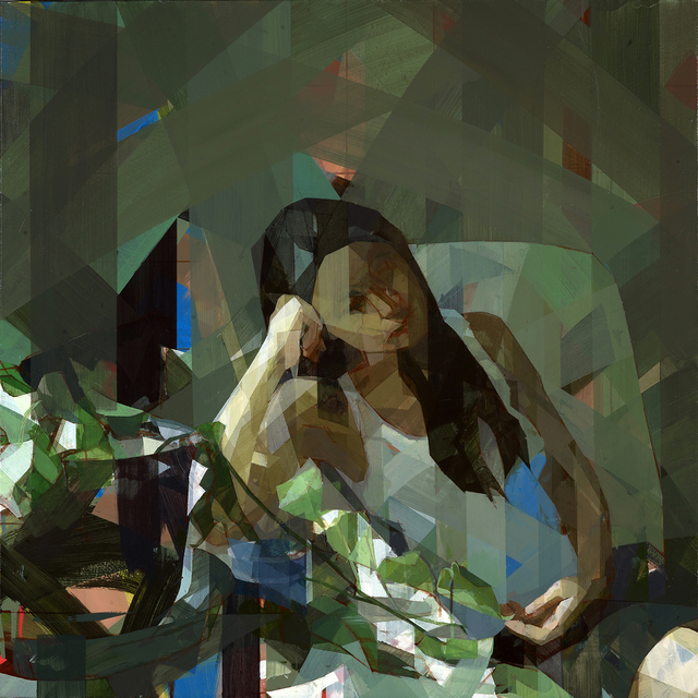 , 'Woman With Ivy,' 2014, Hall Spassov Gallery
