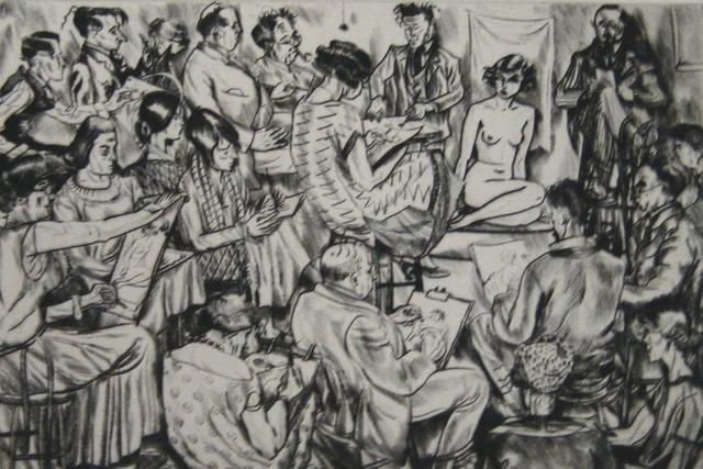 , 'Frenzied Effort,' 1925, Paramour Fine Arts