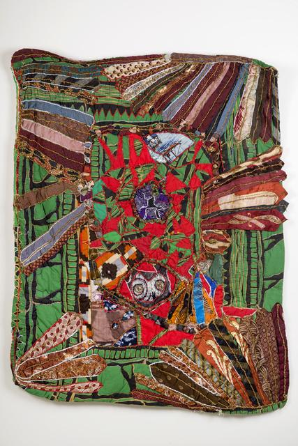Elizabeth Talford Scott, 'Birthday Quilt', 1994, Textile Arts, Fabric, mixed media, Goya Contemporary/Goya-Girl Press