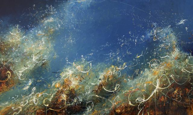 , 'Little Venn Pirouettes in Blue,' 2018, Winston Wächter Fine Art