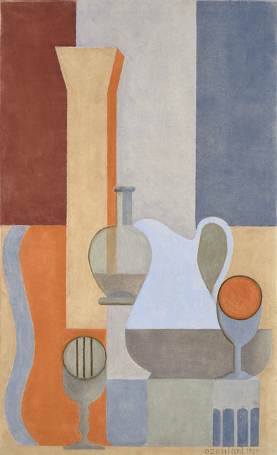 , 'Nature morte puriste,' 1921, Galerie Zlotowski
