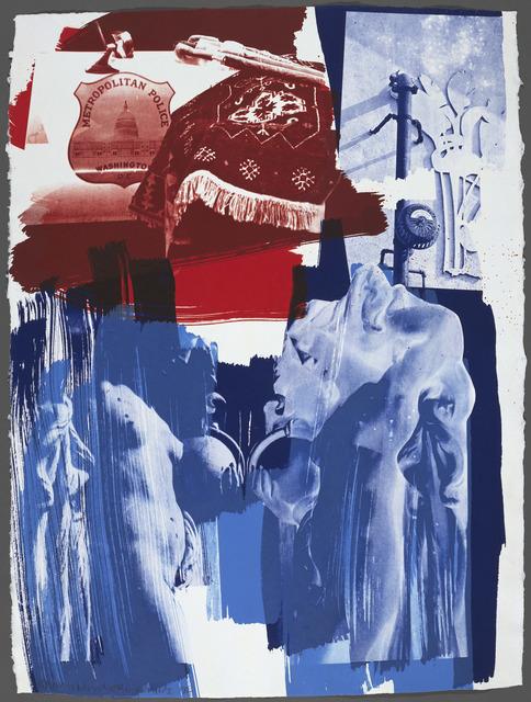Robert Rauschenberg, 'Blues', 1992, Gemini G.E.L.