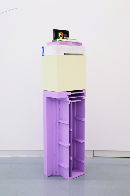 , 'Nailed Stack,' 2015, Kavi Gupta
