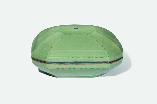 , 'Celadon Square Lidded Bowl,' 2006, Gallery LVS