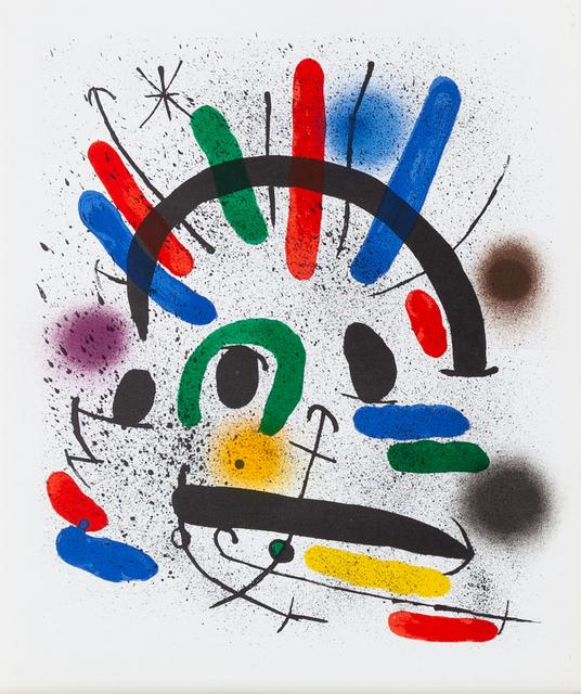 Joan Miró, 'Lithographie Originale II', 1972, Zuleika Gallery
