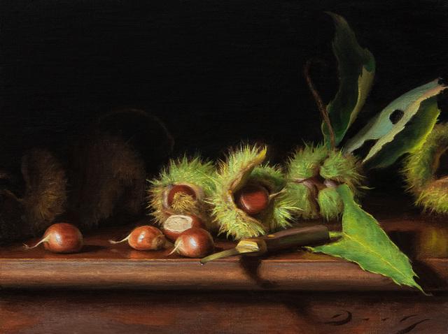, 'Still Life with Freshly Fallen Chestnuts,' 2019, Louis K. Meisel Gallery