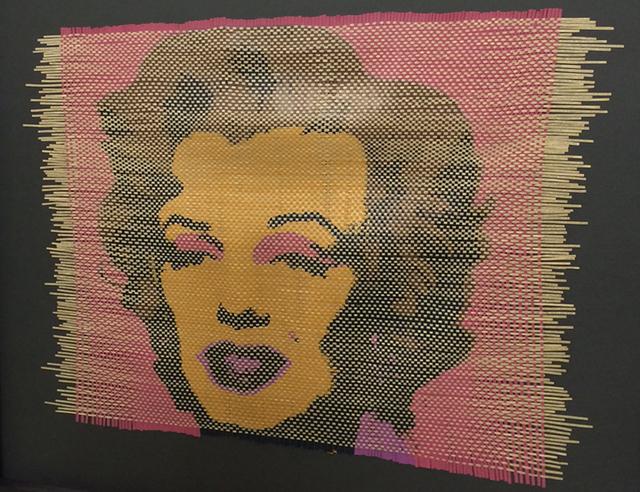 , 'Bild - Textverwebung - Marilyn/Arthur Miller I,' 2014, Mario Mauroner Contemporary Art Salzburg-Vienna