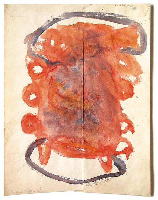 , 'Das Denken öffnet sich,' 1993, Galerie Herold