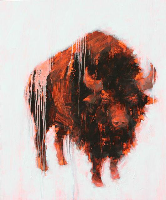 , 'Bison,' 2015, Abend Gallery