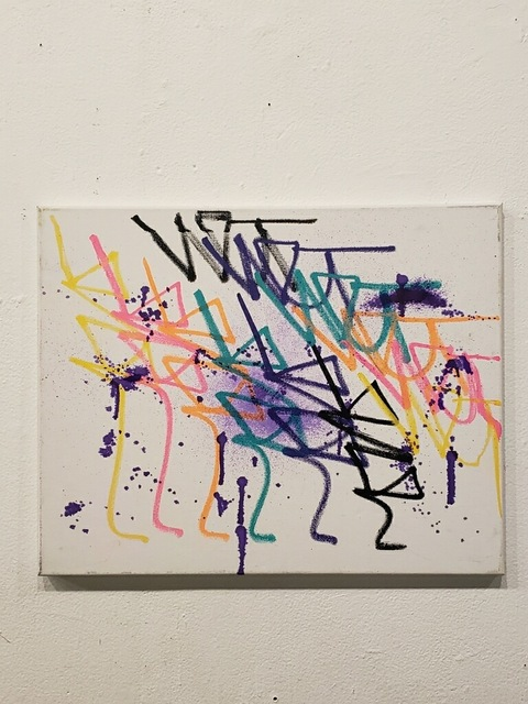 , 'Tagstraction Splatter,' 2019, Park Place Gallery