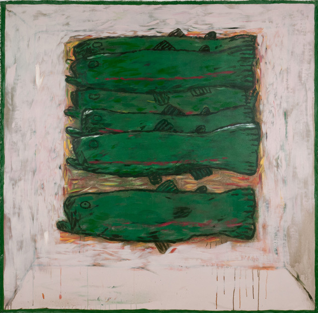 , 'Green Fish,' 2011, Linda Hodges Gallery
