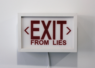 EXIT from LIES