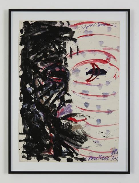 , 'Selfportrait,' 1981, Eleni Koroneou