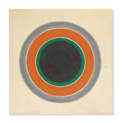 Kenneth Noland, 'A Warm Sound in a Gray Field', Christie's