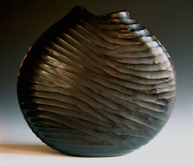 , 'black carved,' 2009, Brutto Gusto