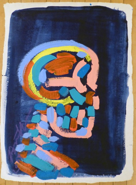 , 'Skull XXX,' 2017, Vertical Gallery