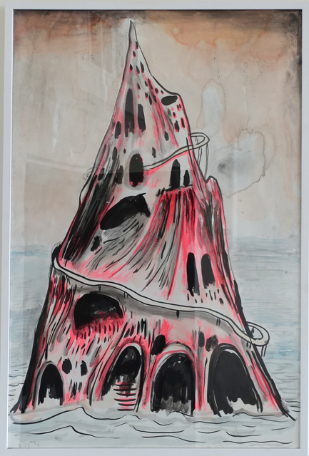 , 'The Pink Island,' 2014, The LODGE