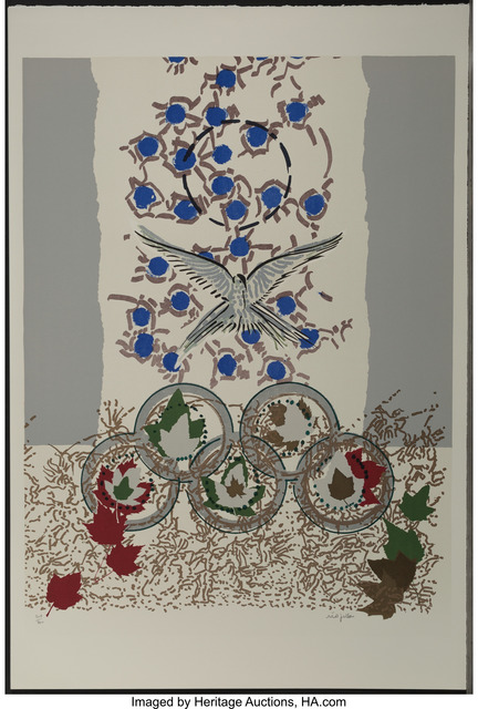Jean-Paul Riopelle, 'Dove, from Official Arts Portfolio of the XXIVth Olympiad, Seoul, Korea', 1988, Heritage Auctions