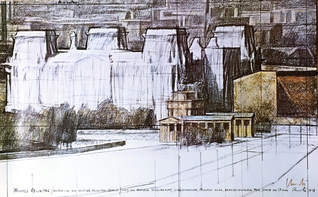 Christo, 'Wrapped Reichstag (Hand Signed)', 1978, Alpha 137 Gallery