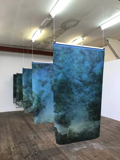 , 'Installation in Japan, for Amagoi no taki, artist space,' 2018, FLATLAND