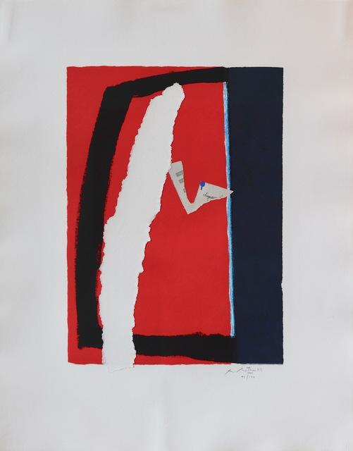 Robert Motherwell, 'Game of Chance', 1987, Aaron Galleries