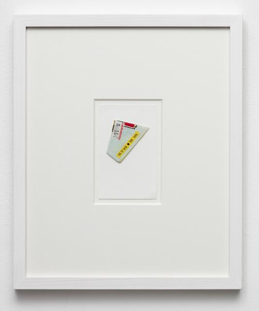 , 'Sketch for a fragment,' 2018, Marie Kirkegaard Gallery