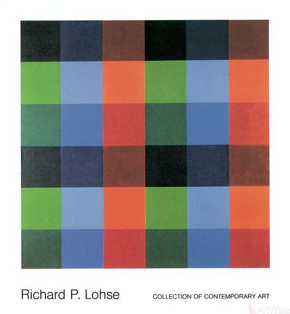 Richard Paul Lohse, '9 x 4 Farborte 1954-82', (Date unknown), ArtWise