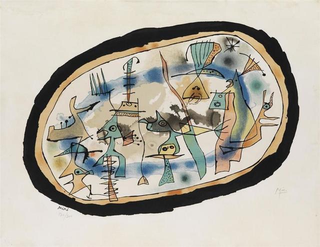 Joan Miró, ' Naissance du jour', 1952, Print, Lithograph, Le Coin des Arts