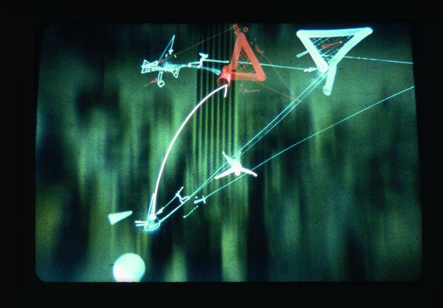 , 'Acrobatics,' ca. 1996, Rotwand