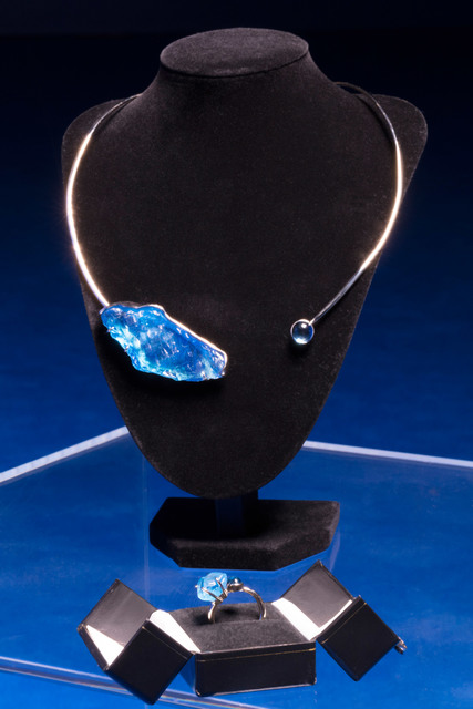 Isaac Julien, 'Glacier (Stones Against Diamonds)', 2015, Jewelry, White gold and topaz, Roslyn Oxley9 Gallery