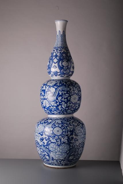 , 'Large Triple Gourd Vase,' Kangxi period (1662-1722), Vanderven Oriental Art