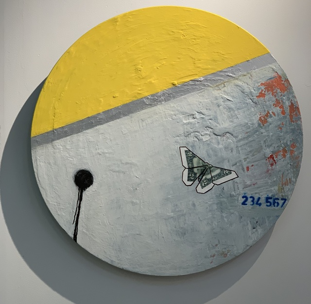 Guy Stanley Philoche, 'Yellow with Two Dollar Bill Butterfly', 2019, Cavalier Ebanks Galleries