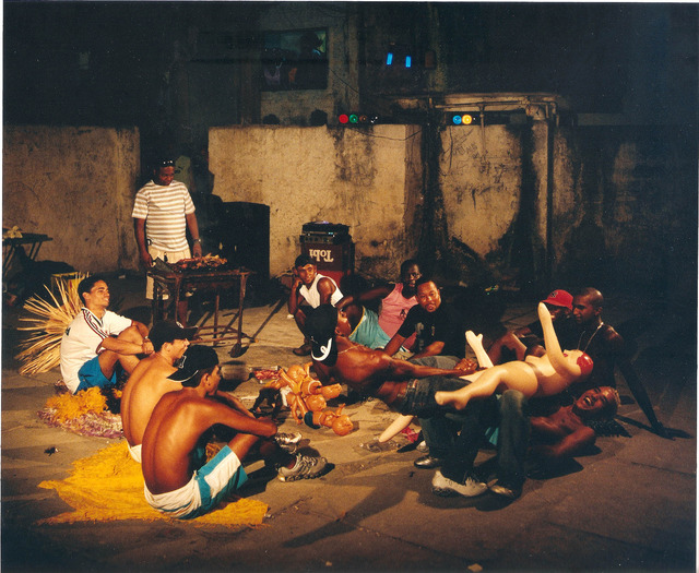 ", 'Woodcuts ""Funk Staden"",' 2008, Galeria Filomena Soares"
