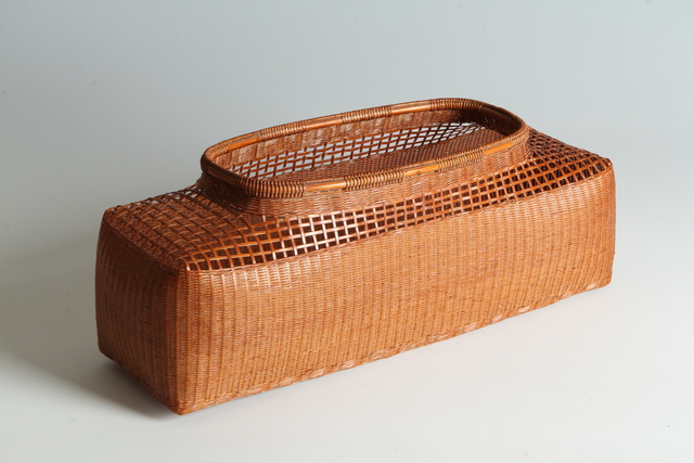 , 'Bamboo Basket (T-3885),' Showa era (1926-89) 1970s, Erik Thomsen