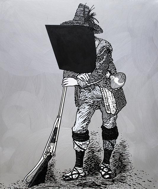 , 'Ritratto del brigante Terenzio Grossi (1832-1860),' 2011, Alberto Peola