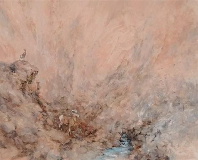 , 'Viral Transgression, Big Horn Sheep,' 2018, Asher Grey Gallery