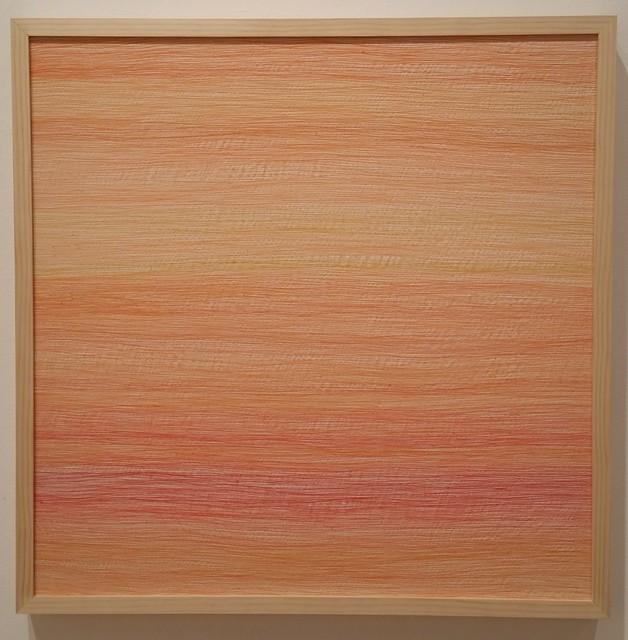 Inkyo Back, 'H.A.Z.E. (orange)', 2015, Michael Warren Contemporary