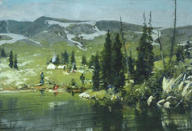 , 'Columbia River,' circa 1911, Blanton Museum of Art