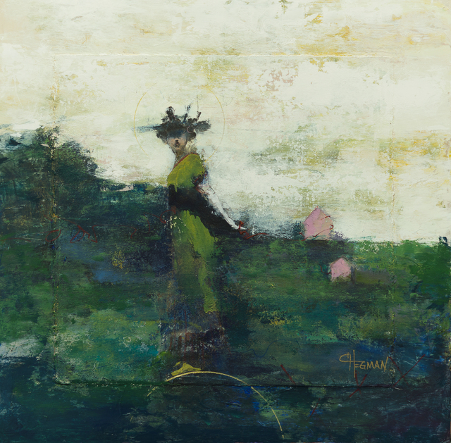 Cathy Hegman, 'Weight of Balance, Little Pink House', 2019, TEW Galleries