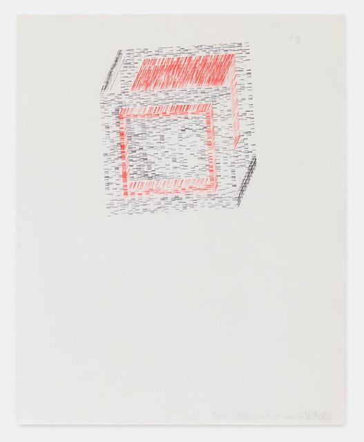 , 'partial cube within a cube,' 1969, Richard Saltoun