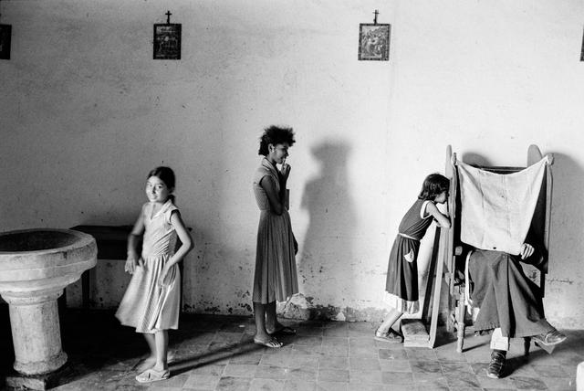 Chris Steele Perkins, 'Village Confessional, El Salvador', 1981, The Photographers' Gallery