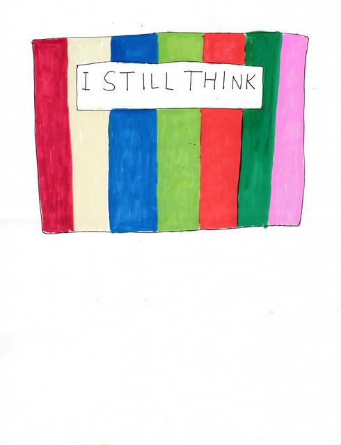 , 'I Still Think,' 2014, Lora Reynolds Gallery