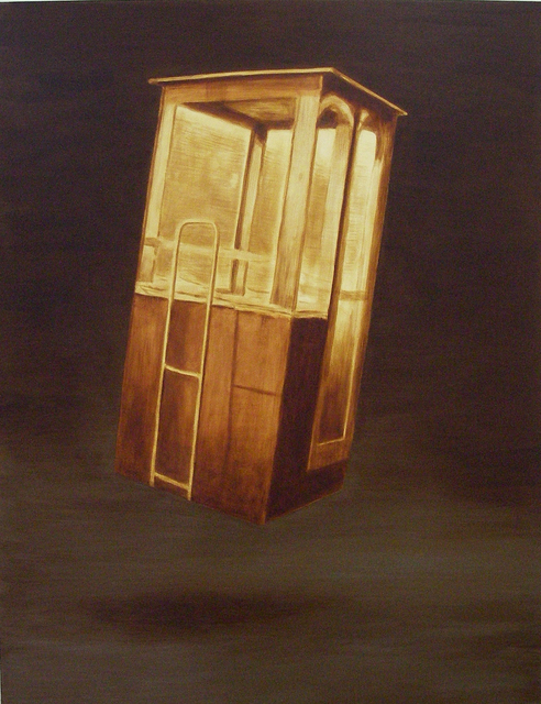 , 'A place to hide above the ground,' 2007, Akinci