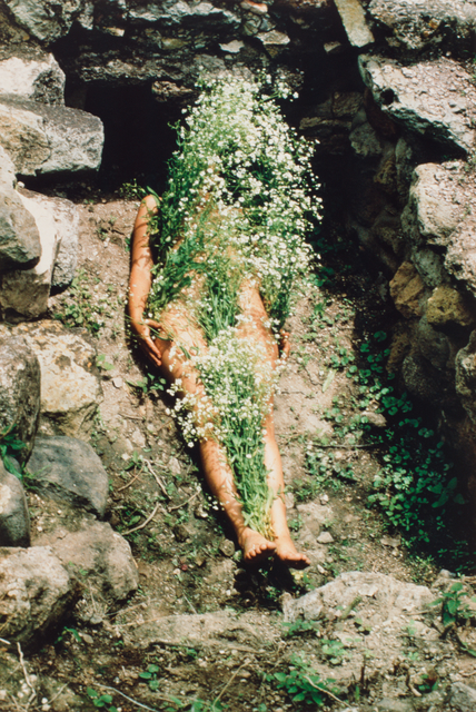 Ana Mendieta, 'Imagen de Yagul, from the series Silueta Works in Mexico 1973-1977', 1973, San Francisco Museum of Modern Art (SFMOMA)