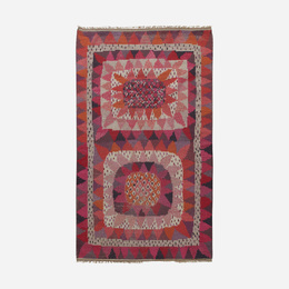 Solrosen rya carpet
